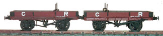 Caledonian Railway diagram 109 16 ton twin wagon (CRD109)