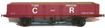 Caledonian Railway diagram 114 16 ton boiler tube wagon (CRD114)