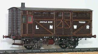 LNWR diagram 26 prize cattle box (LNWD026)