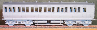 MR diagram 502 43ft Clayton bogie brake third carriage (MRD502)