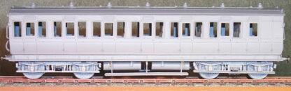 MR diagram 502 43ft Clayton bogie brake third carriage (MRD502)