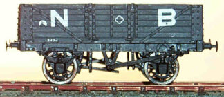NBR diagram 109 10T 6 plank centre door wagon (NBRD109)