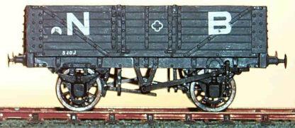 NBR diagram 109 10T 6 plank centre door wagon (NBRD109)