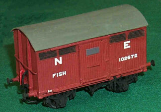 NER diagram F6 10T fish van (NERDF006)