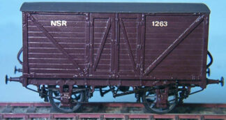 North Staffordshire Dgm 18 silk wagon (NSRD018)