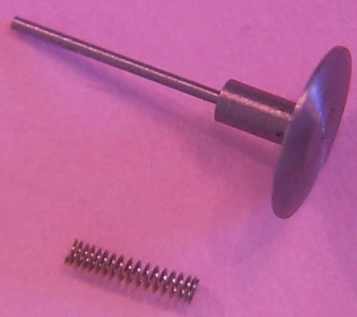 Buffer heads and springs for rolling stock, 18in diameter, 1.45mm shank (UC027)