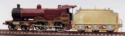 LMS Compound 4P 4-4-0 chassis pack (LCP9)