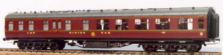 LMS Stanier D1901/1923 68ft Restaurant Third (12-wheeler) (M47K)