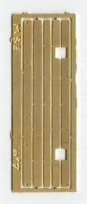 Long parallel timber treads for signal brackets (S008/7)