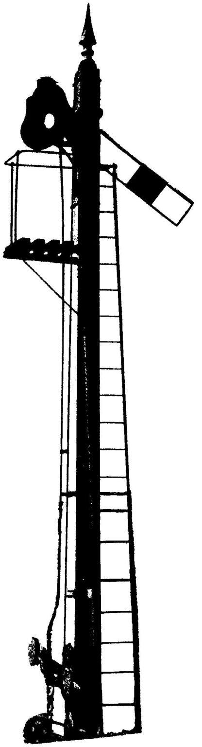 MR wooden post lower quadrant signal kit (S7/KM5)