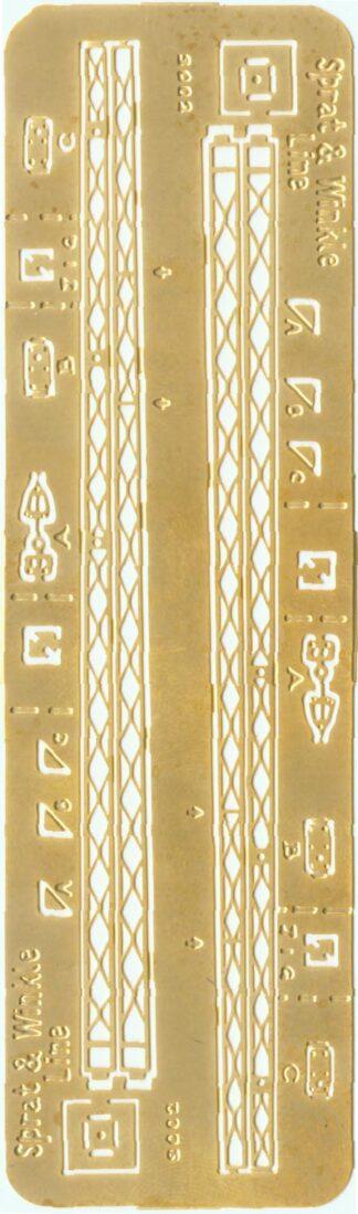 Stevens & Co lattice signal posts (SN2)