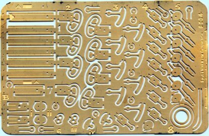 LNWR Crewe pattern signal arms and fittings (SN4)