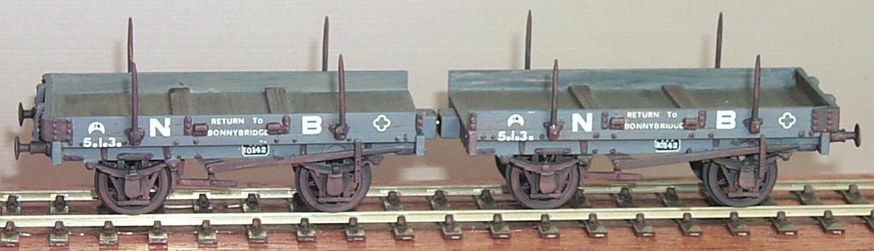 nbrd091: nbr diagram 91 10t twin bar wagon